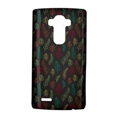 Whimsical Feather Pattern, Autumn Colors, Lg G4 Hardshell Case