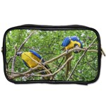 South American Couple Of Parrots Toiletries Bags 2-Side Front