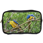 South American Couple Of Parrots Toiletries Bags 2-Side Back