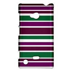 Purple Green Stripes Nokia Lumia 720