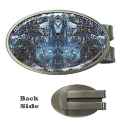 Lost In The Mirror  Money Clips (Oval)