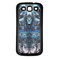 Lost In The Mirror  Samsung Galaxy S3 Back Case (Black)
