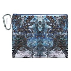 Lost In The Mirror  Canvas Cosmetic Bag (XXL)