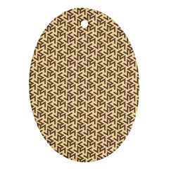 Braided Pattern Ornament (Oval)