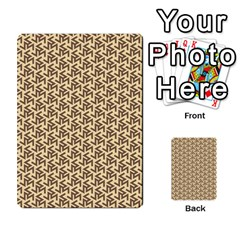 Braided Pattern Multi Purpose Cards (rectangle)