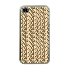 Braided Pattern Apple iPhone 4 Case (Clear)