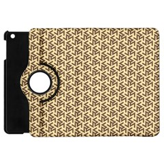 Braided Pattern Apple iPad Mini Flip 360 Case