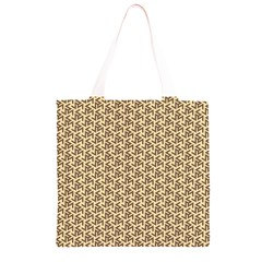 Braided Pattern Grocery Light Tote Bag