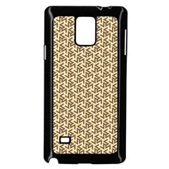 Braided Pattern Samsung Galaxy Note 4 Case (Black)
