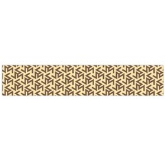 Braided Pattern Flano Scarf (Large)