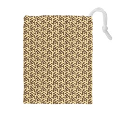 Braided Pattern Drawstring Pouches (Extra Large)