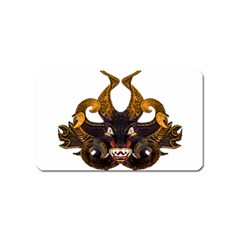 Demon Tribal Mask Magnet (name Card)