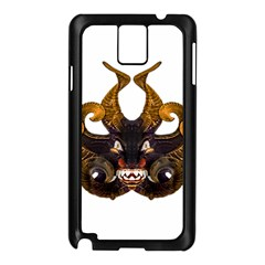 Demon Tribal Mask Samsung Galaxy Note 3 N9005 Case (Black)