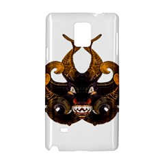 Demon Tribal Mask Samsung Galaxy Note 4 Hardshell Case