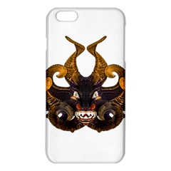 Demon Tribal Mask iPhone 6 Plus/6S Plus TPU Case