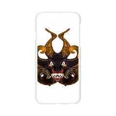 Demon Tribal Mask Apple Seamless iPhone 6/6S Case (Transparent)