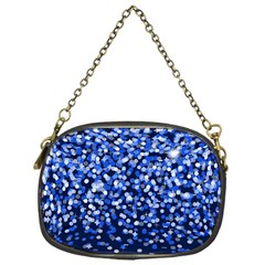 Blue Glitter Rain Chain Purses (One Side)