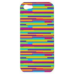 Colorful Stripes Background Apple iPhone 5 Hardshell Case