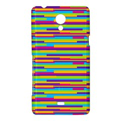 Colorful Stripes Background Sony Xperia T
