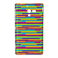 Colorful Stripes Background Sony Xperia ZL (L35H)