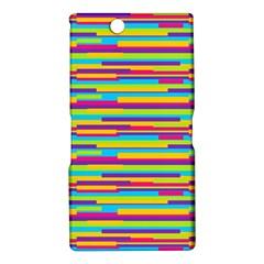 Colorful Stripes Background Sony Xperia Z Ultra