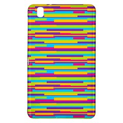 Colorful Stripes Background Samsung Galaxy Tab Pro 8.4 Hardshell Case