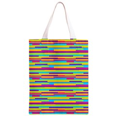 Colorful Stripes Background Classic Light Tote Bag