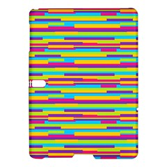 Colorful Stripes Background Samsung Galaxy Tab S (10.5 ) Hardshell Case