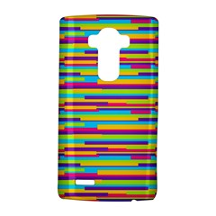 Colorful Stripes Background LG G4 Hardshell Case