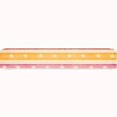 Watercolor Stripes Background With Stars Small Bar Mats