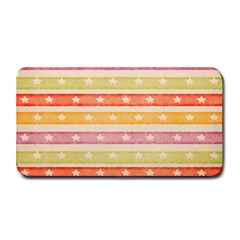 Watercolor Stripes Background With Stars Medium Bar Mats