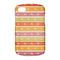 Watercolor Stripes Background With Stars BlackBerry Q10