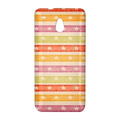 Watercolor Stripes Background With Stars HTC One Mini (601e) M4 Hardshell Case