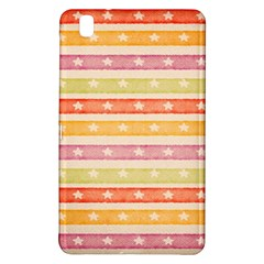 Watercolor Stripes Background With Stars Samsung Galaxy Tab Pro 8.4 Hardshell Case