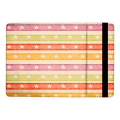 Watercolor Stripes Background With Stars Samsung Galaxy Tab Pro 10.1  Flip Case