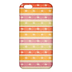 Watercolor Stripes Background With Stars iPhone 6 Plus/6S Plus TPU Case