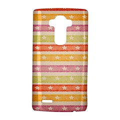 Watercolor Stripes Background With Stars LG G4 Hardshell Case