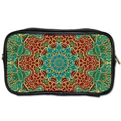 The Wooden Heart Mandala,giving Calm Toiletries Bags 2 Side