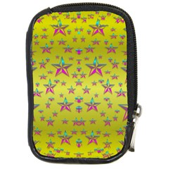 Flower Power Stars Compact Camera Cases