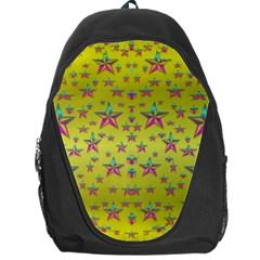 Flower Power Stars Backpack Bag