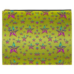 Flower Power Stars Cosmetic Bag (XXXL)
