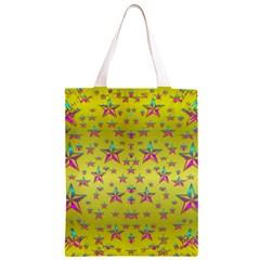 Flower Power Stars Classic Light Tote Bag