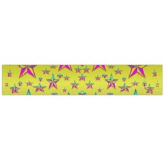 Flower Power Stars Flano Scarf (Large)