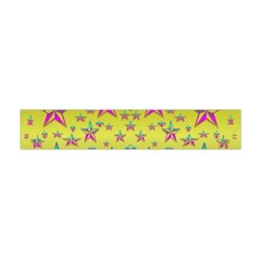 Flower Power Stars Flano Scarf (mini)