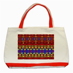 Egypt Star Classic Tote Bag (red)