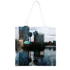 Downtown Orlando Florida Lake Eola  Grocery Light Tote Bag
