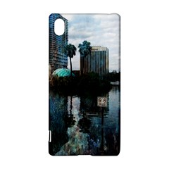 Downtown Orlando Florida Lake Eola  Sony Xperia Z3+