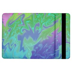 Green Blue Pink Color Splash iPad Air Flip