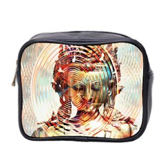 Dakini Goddess Copper Metallic Mini Toiletries Bag 2-Side