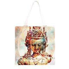 Dakini Goddess Copper Metallic Grocery Light Tote Bag